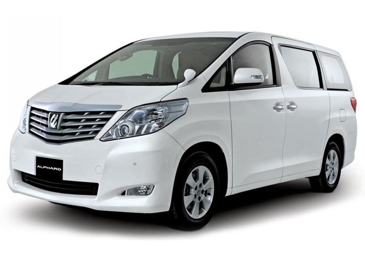 Ola Zanzibar Car Rental - Toyota Alphard