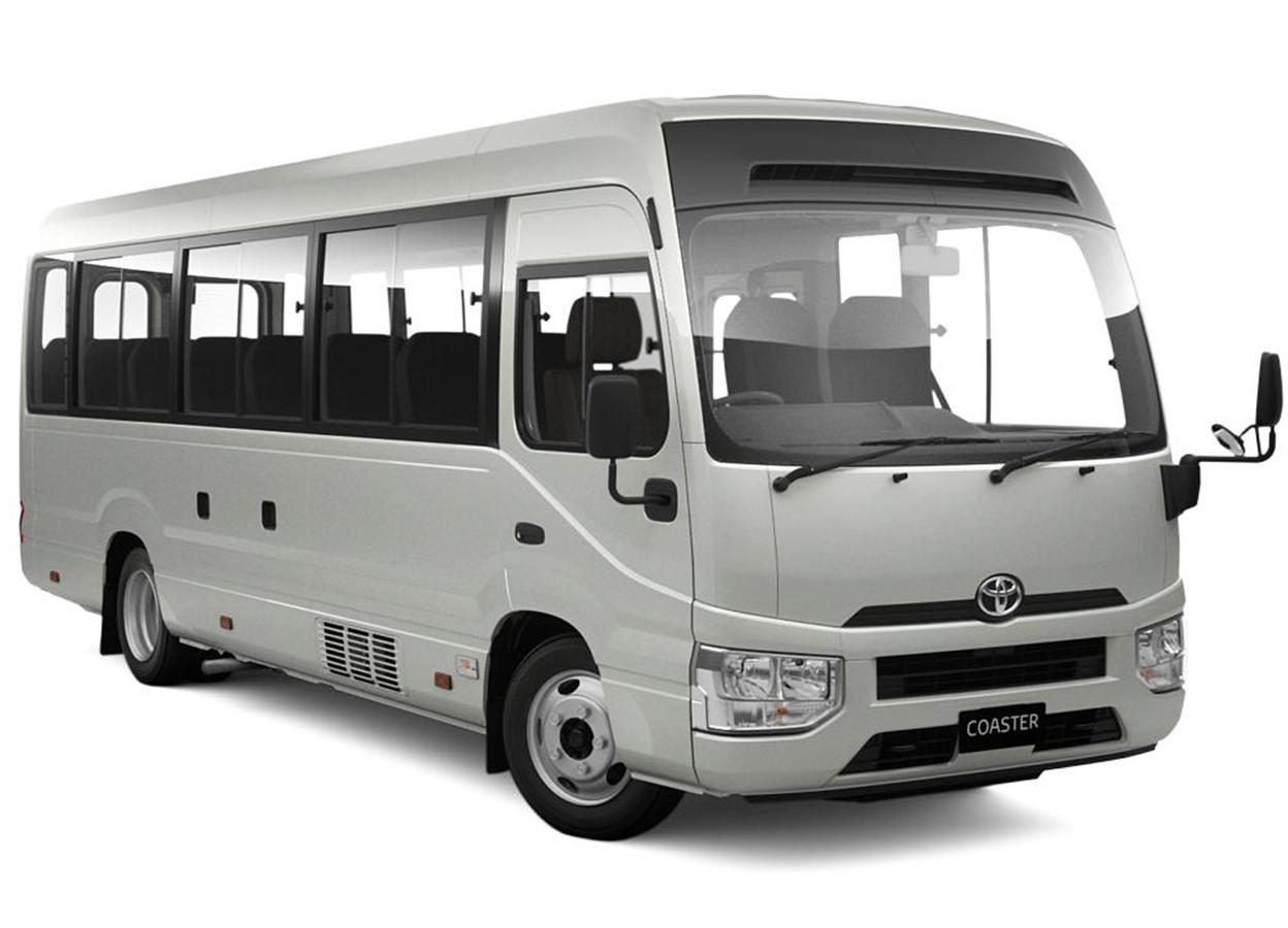 Ola Zanzibar Car Rental - Toyota Coaster