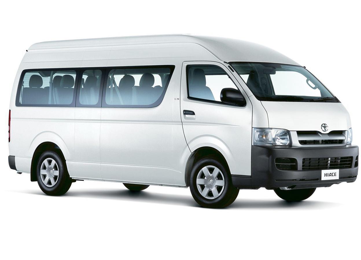 Ola Zanzibar Car Rental - Toyota Hiace
