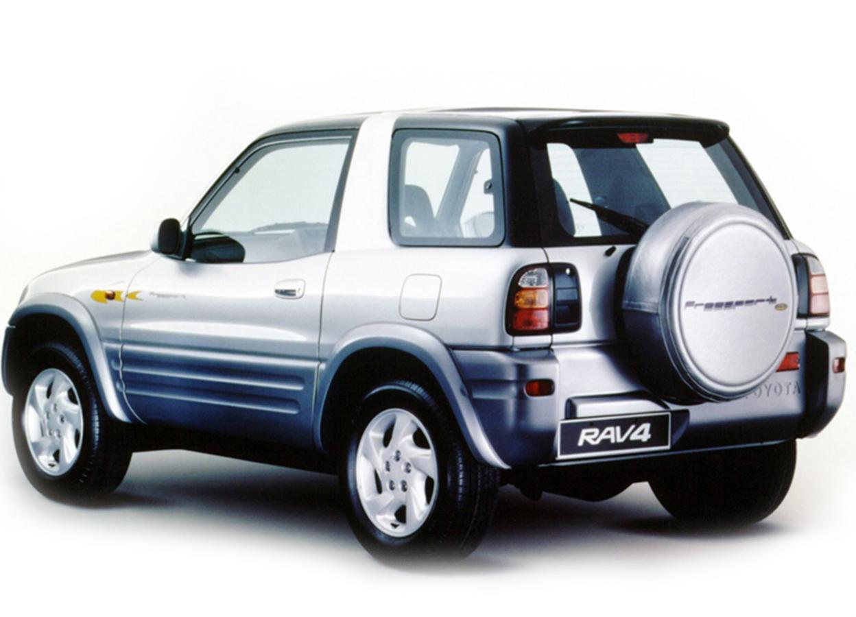 Ola Zanzibar Car Rental - Toyota RAV4 3 Doors